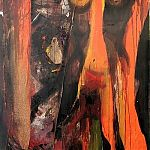 manuela papez-malkovsky acryl malerei, wien